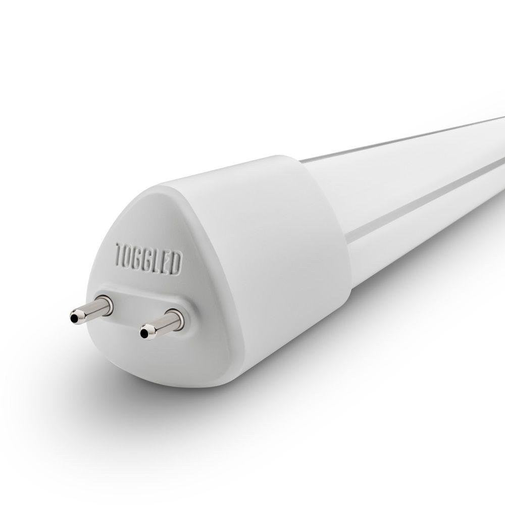 toggled D-series T8 / T12 Dimmable LED Light Lamp Tube, 4ft (48in), 120 VAC, 16W, 5000K (Day Light)