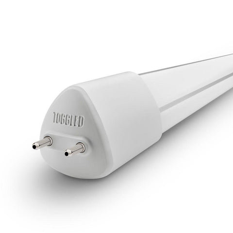 toggled E-series T8 / T12 LED Light Lamp Tube, 4ft (48in), 120-277 VAC, 16W, 4000K (Cool White)