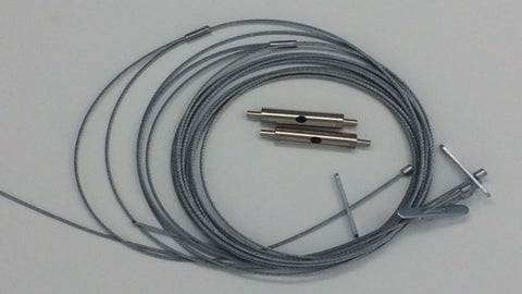 Toggled High Bay Cable Hanging Kit