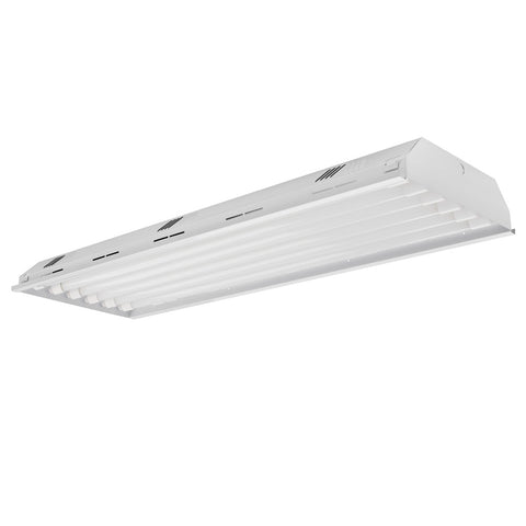 4 ft. LED Grow High Bay Fixture - (6) LED Grow Tubes Included