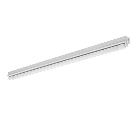 4 ft. 1-Light LED White Strip Fixture (LED Tube Included)