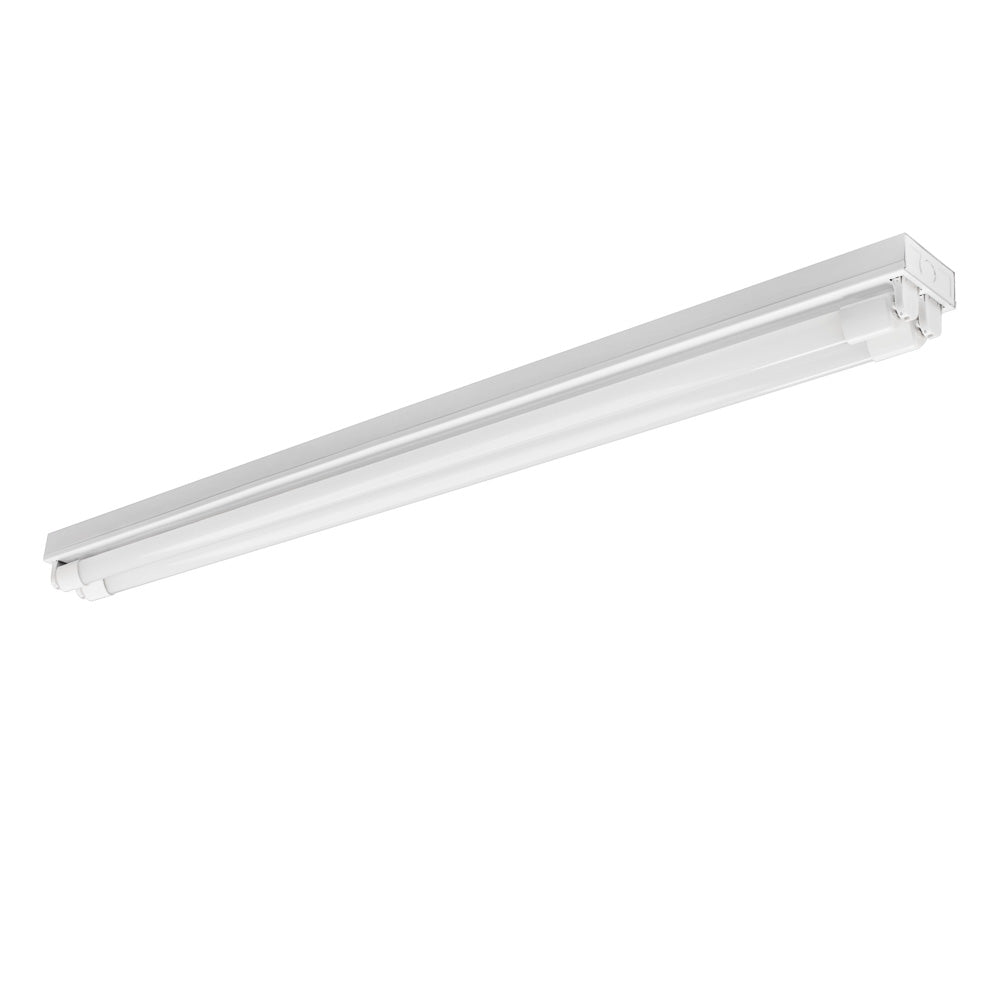 4 ft. LED Strip Fixture - Includes (2) 4 ft. LED Tubes