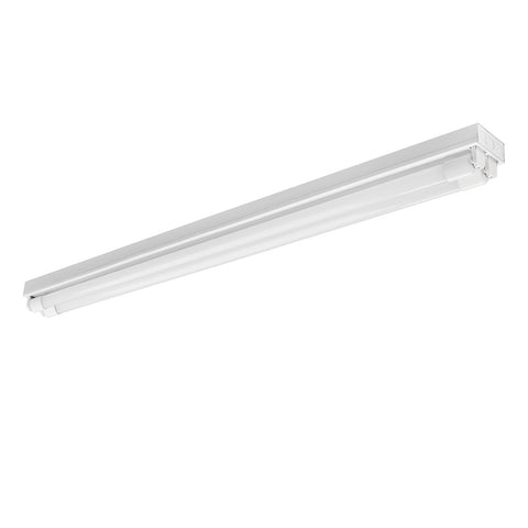4 ft. 2-Light LED White Strip Fixture (Two LED Tubes Included)