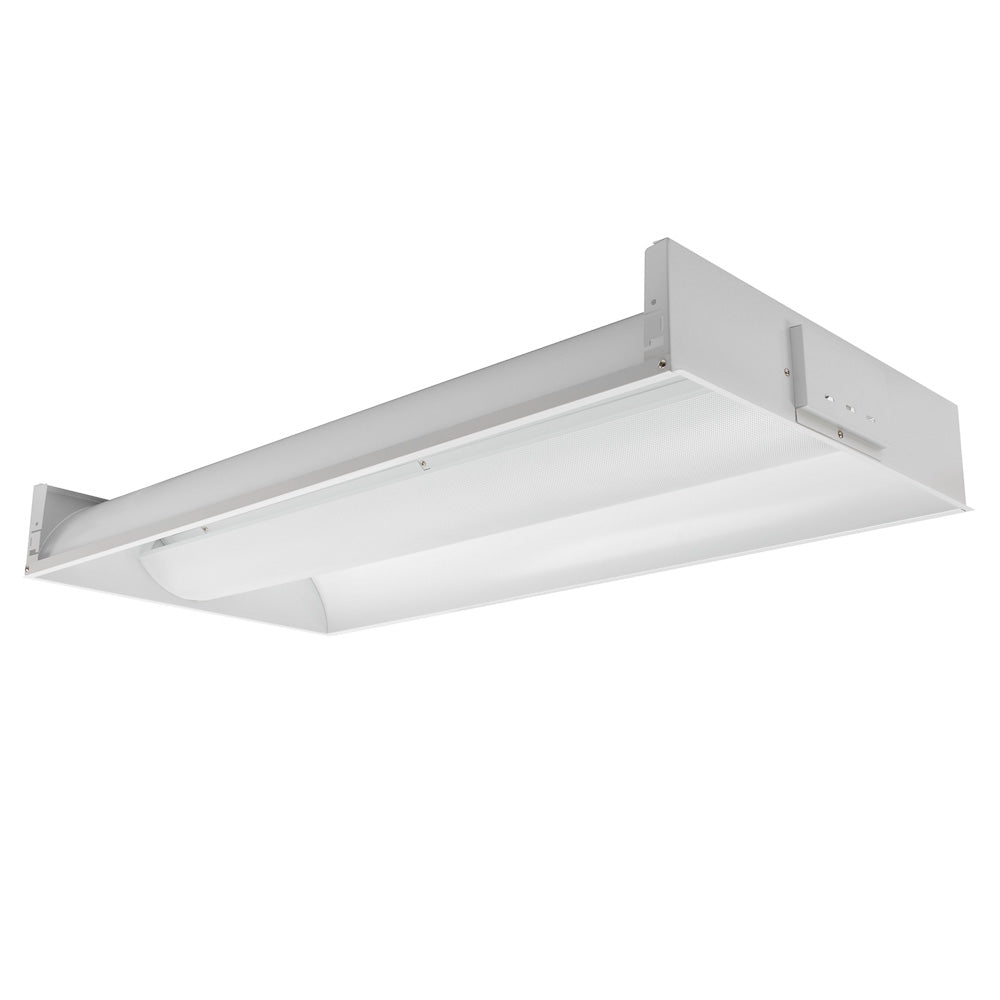 4 ft. (3-lamp) LED Volumetric Fixture (Three LED Tubes Included)