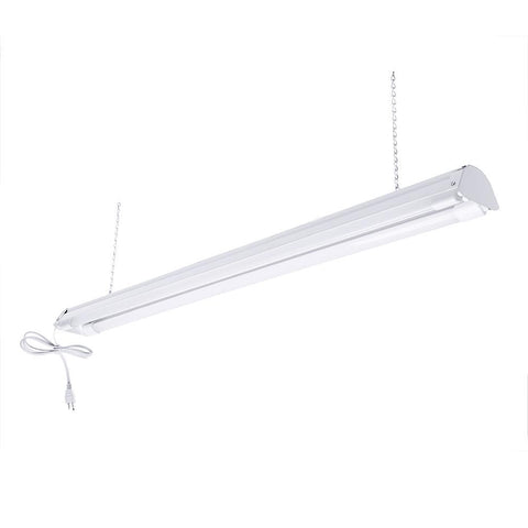 4-ft. LED Shop Light Fixture (Two LED Tubes Included)