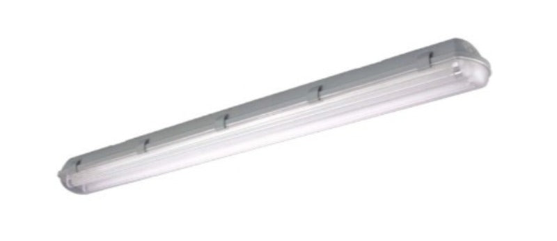 4-ft. LED Vapor Tight Fixture (Two Direct wire LED Tubes Included)