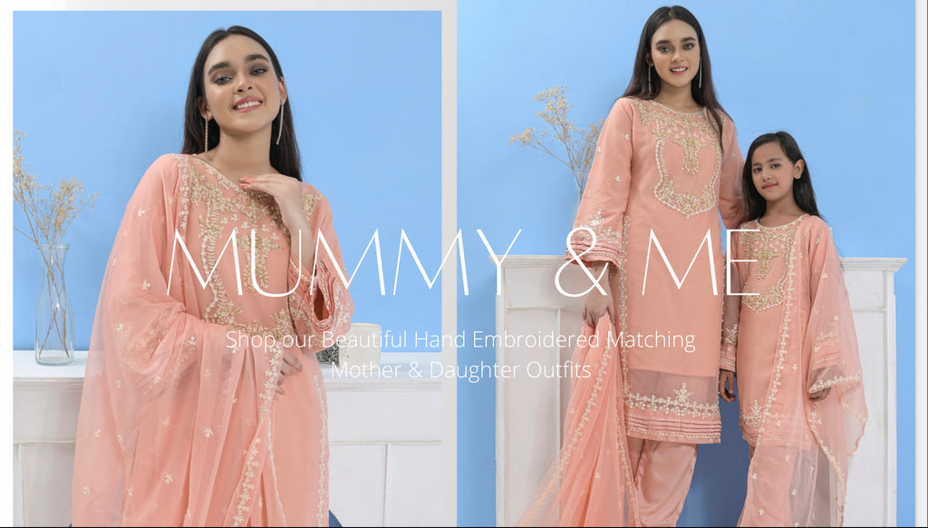 AFROZEH | Afrozeh Embroidered Chiffon Stitched 3 Piece Suit AF20LA 02 TEMPEST OF GRAPES – Luxury Collection