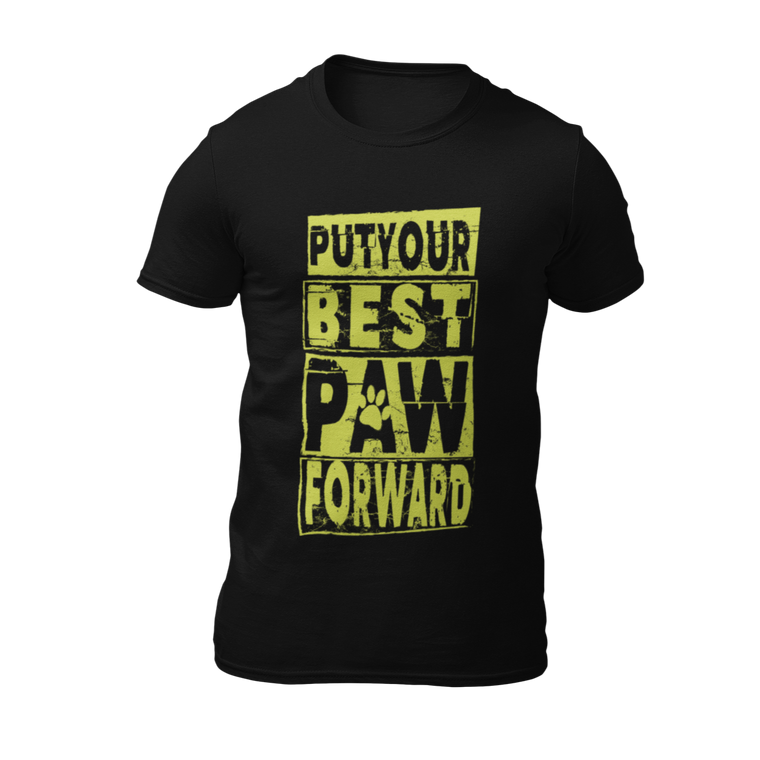 Best Paw Forward - Black