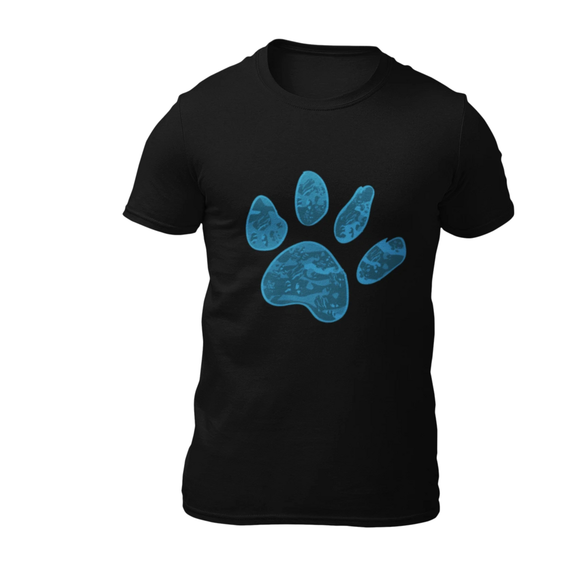 Blue Paw - Black