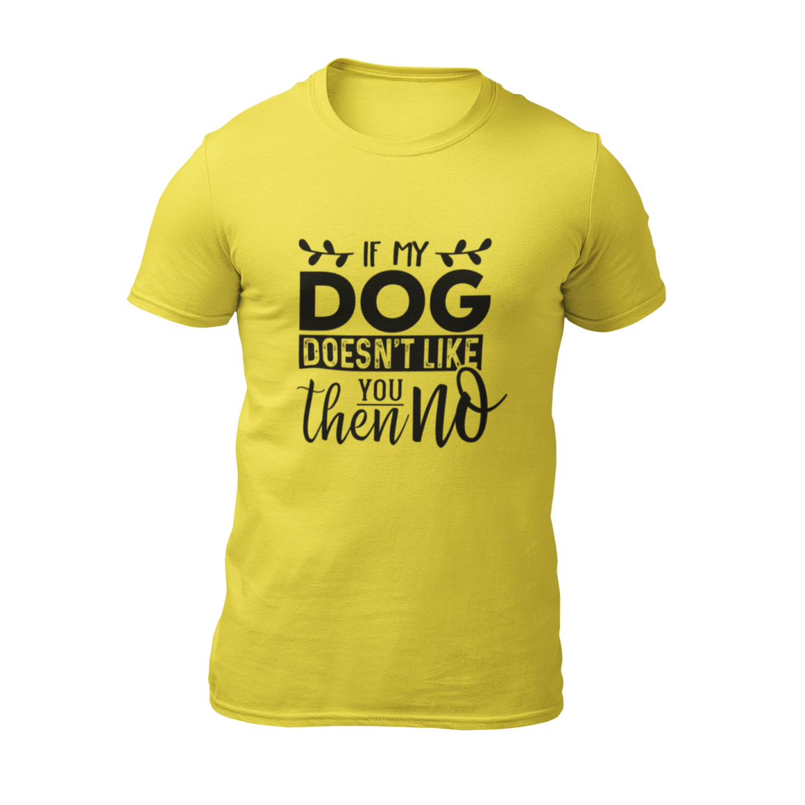 Dog Doesn't Like You - Yellow