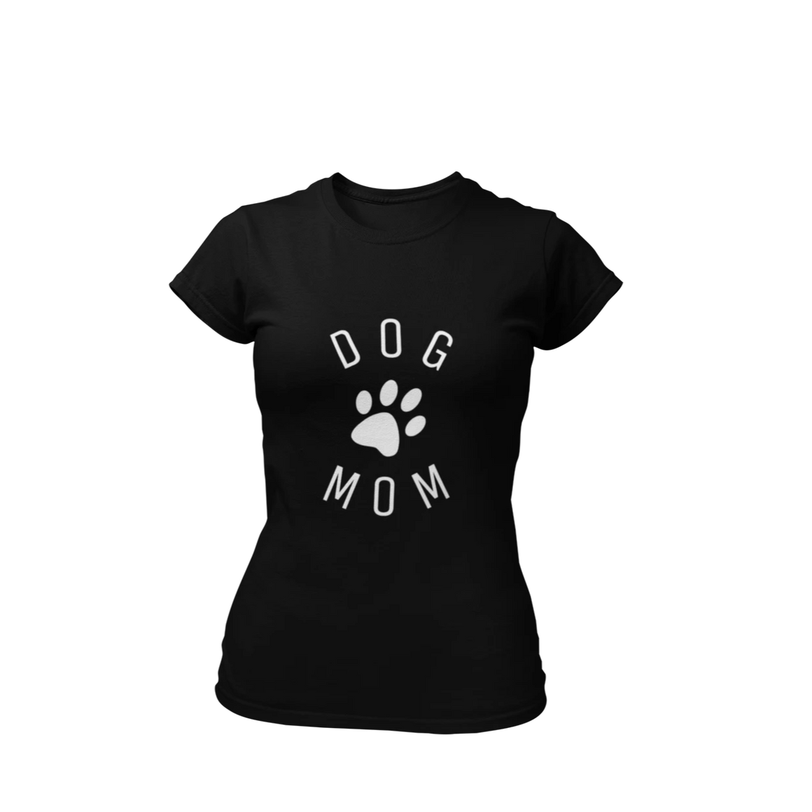 Dog Mom Circle - Black