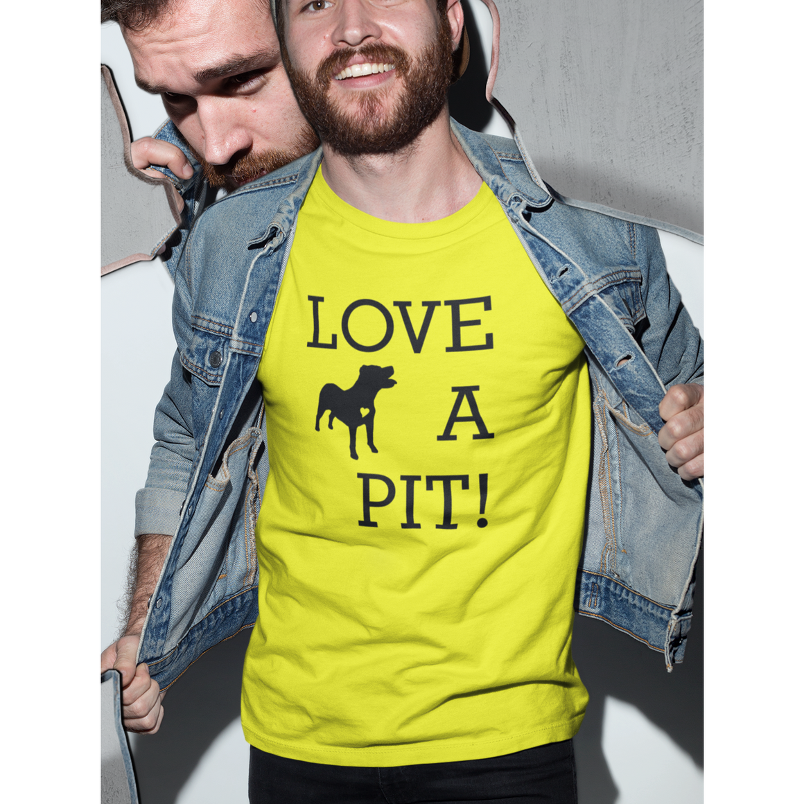 Yellow Pitbull Tee