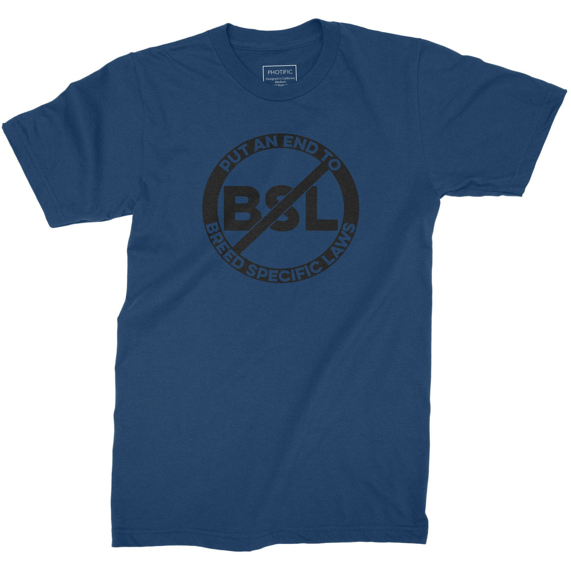 No BSL Youth Pitbull Shirt