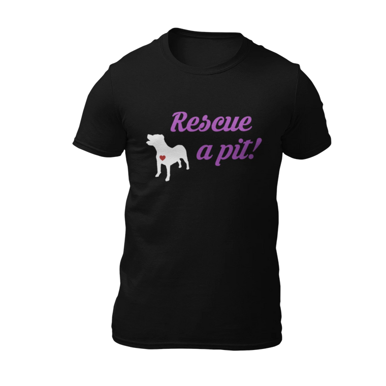 Rescue A Pit -  Black