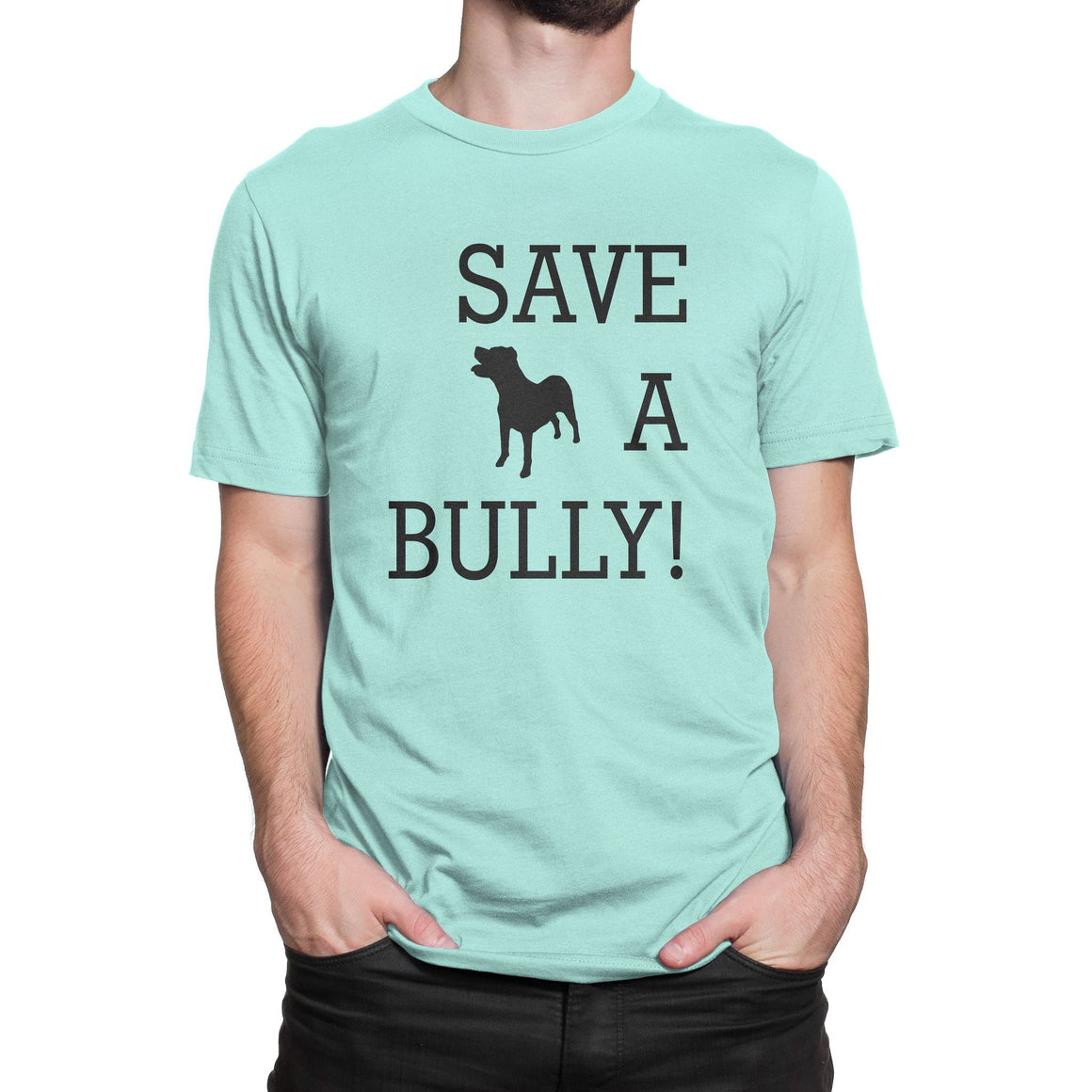 Save a bully Pitbull shirt