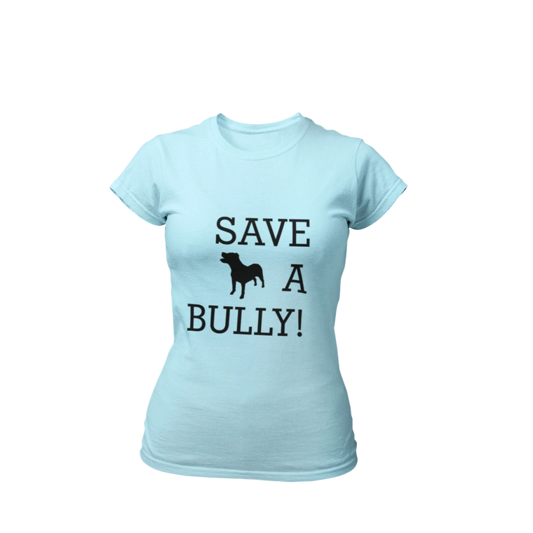 Save A Bully! - Blue