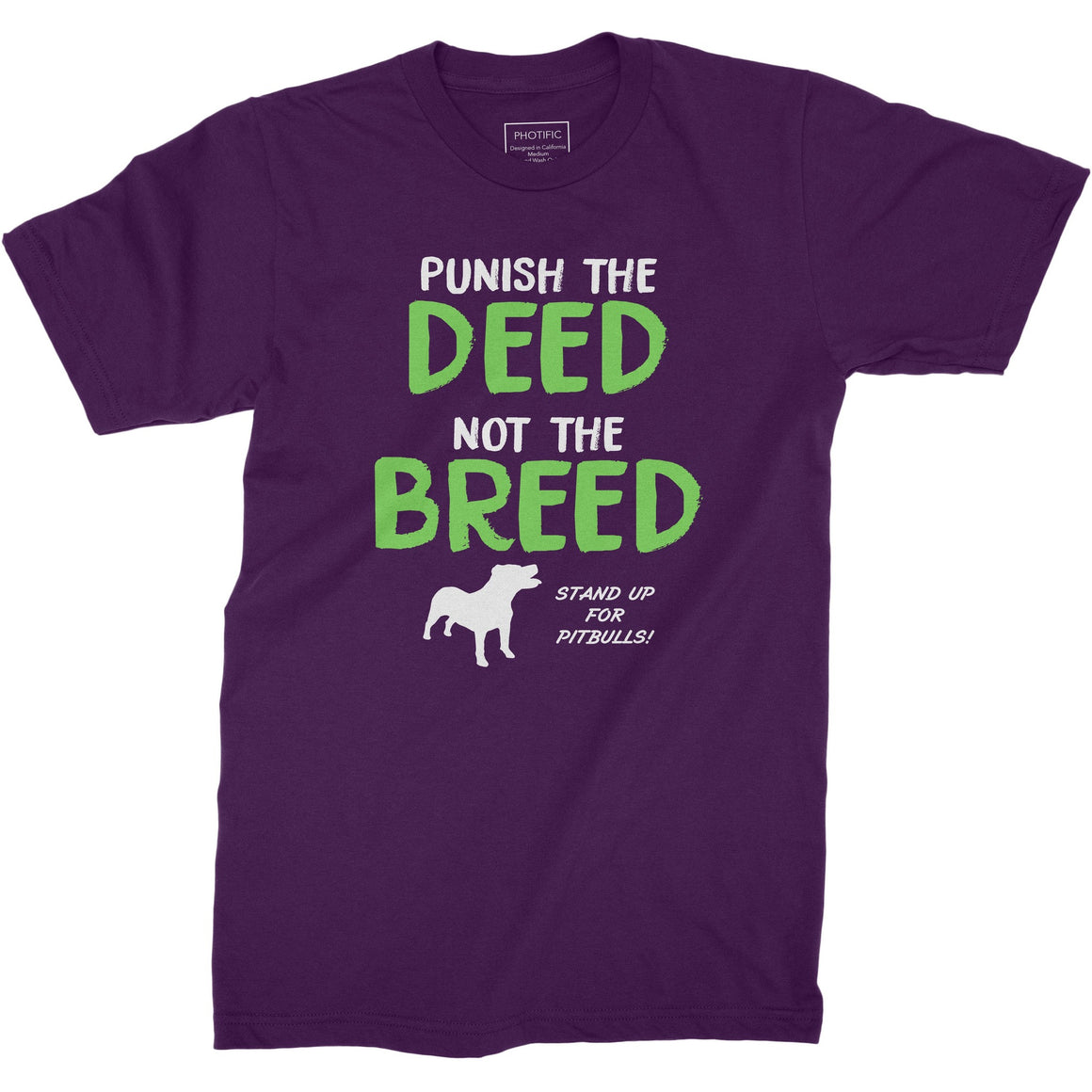 Punish the Deed Youth Pitbull Shirt