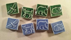 New animal tiles for 2019