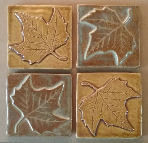 New Tile Design: A Sycamore Leaf