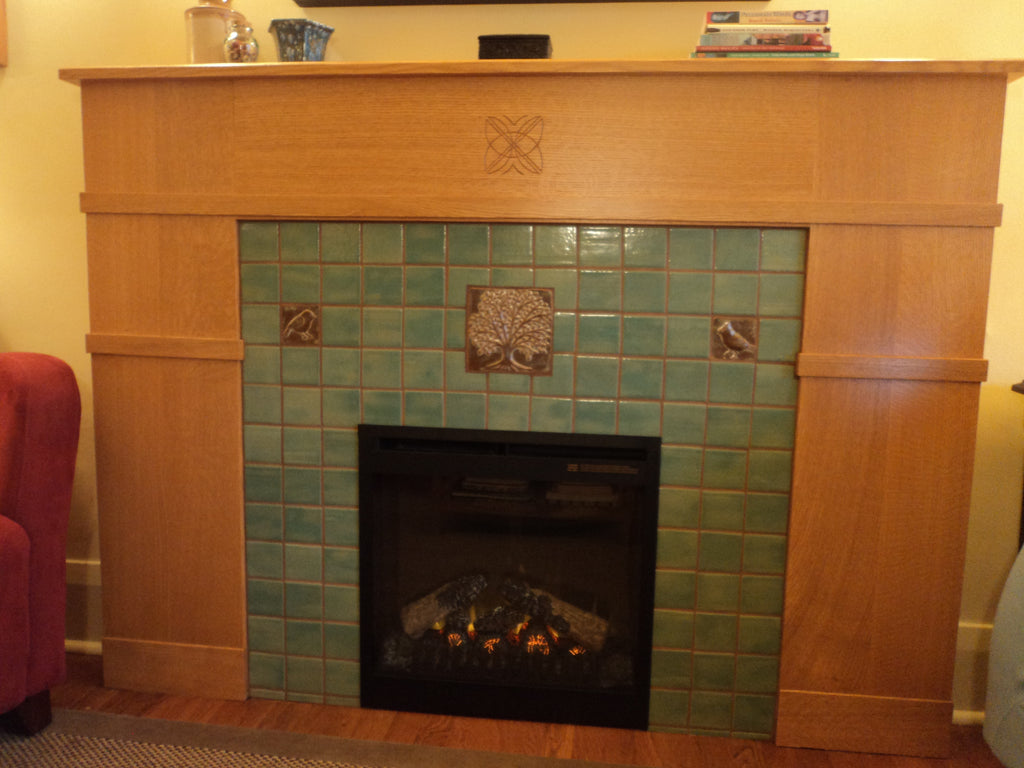 A Craftsman Fireplace