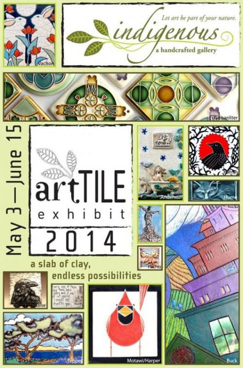 artTILE 2014 at indigenous gallery
