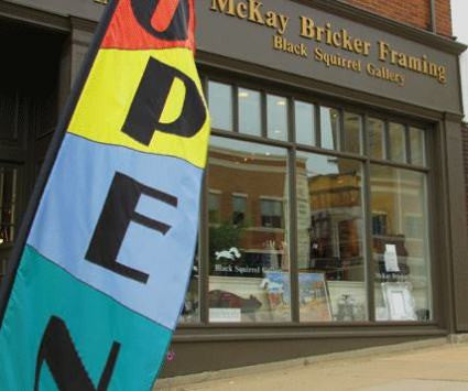 McKay Bricker Gallery Re-Stocked