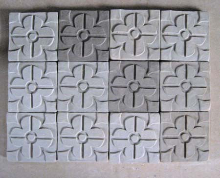 Snapshots of Unfired Tiles