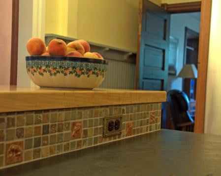 Customer Installation Photos: Art Tiles in the Kitchen