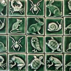 Animal Handmade Ceramic Tiles