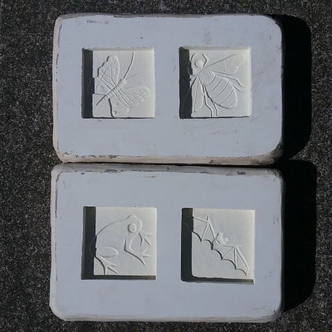 handmade tile molds
