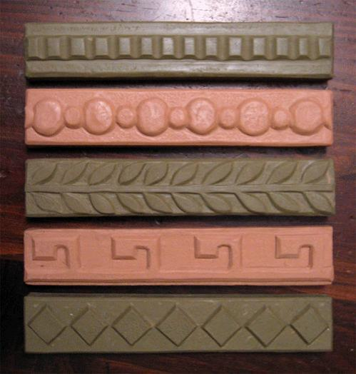 Designs for Ceramic Handmade Border tiles