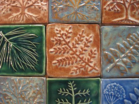 Many types of Arts and Crafts Handmade Tiles 2