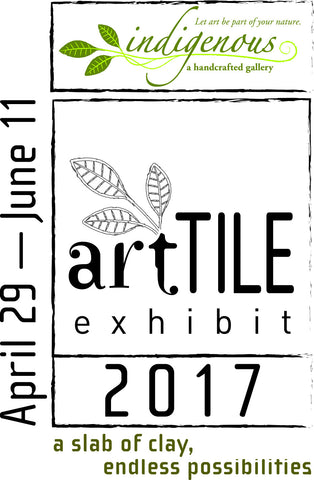 artTILE 2017 logo with show dates