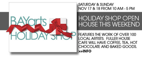 bay arts holiday shop 2018 information