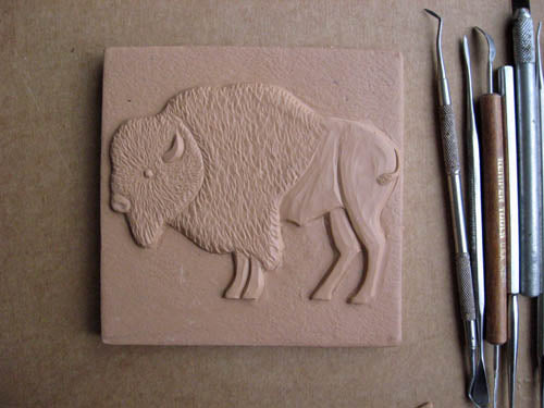 buffalo handmade tile for graycliff estate