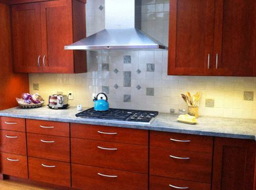 Handmade Tile Kitchen Back-splash