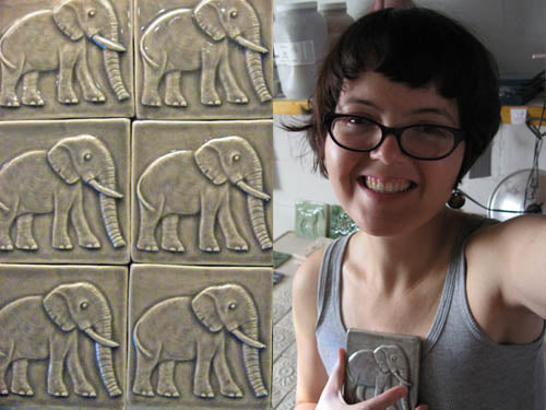 handmade tile fundraiser for the Big Life Foundations