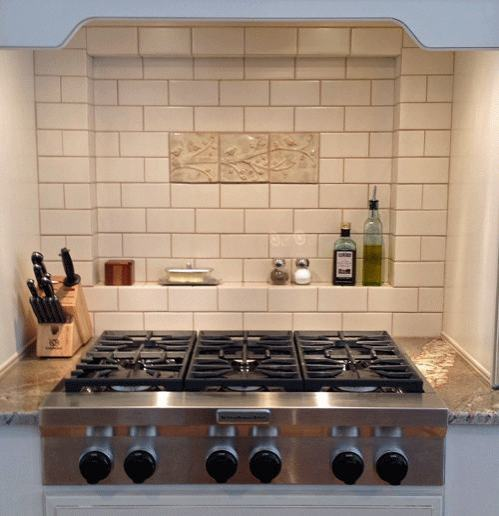 Kitchen Tile Ideas with White Tile