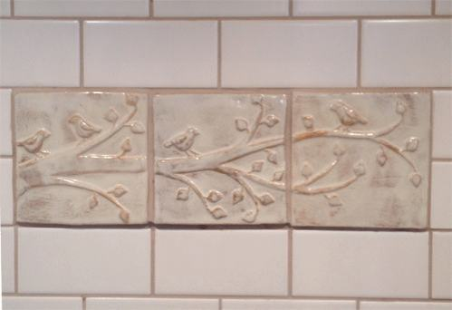 Ceramic Handmade Tile Kitchen Installation 2