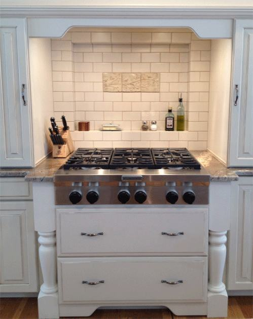Ceramic Handmade Tile Kitchen Installation 4