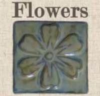 Flower Handmade Art Tiles