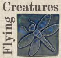 Flying Creature Handmade Art Tiles