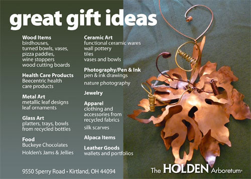 Gifts from the Heart of Nature Show Holden Arboretum