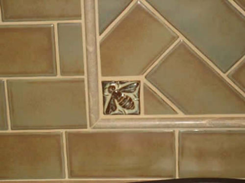 Handmade Tile Bee Kitchen 1