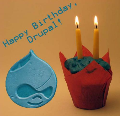 Happy Birthday, Drupal!