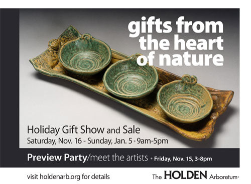 gifts from the heart of nature 2013 postcard holden arboretum