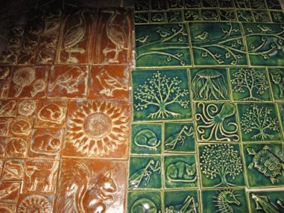 Fields of Handmade Ceramic Tiles