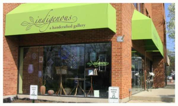 indigenous, a handcrafted gallery in Cincinnati, OH