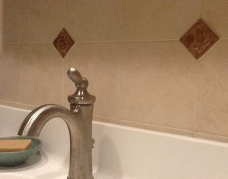 Handmade Tiles Installed in Bathroom 1