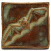 Bat Handmade Tile